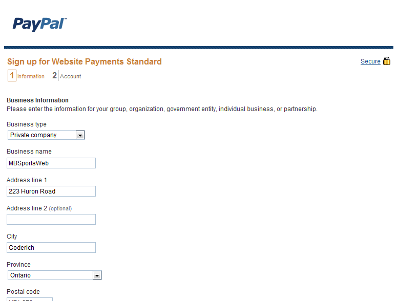 How To: Integrate PayPal With an Online Form - MBSportsWeb